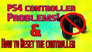 How To Reset Ps4 Controller Playstation 4 Controller Problems