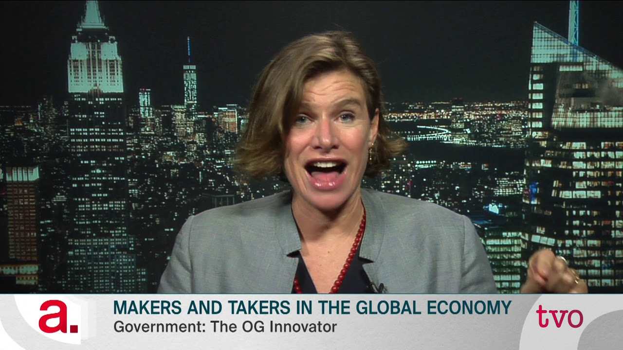 Makers and Takers in the Global Economy