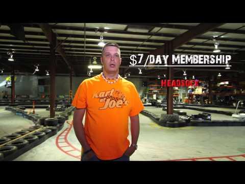 Joe's Karting - New Track Prices