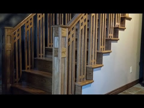 Building a Custom Staircase and Handrail