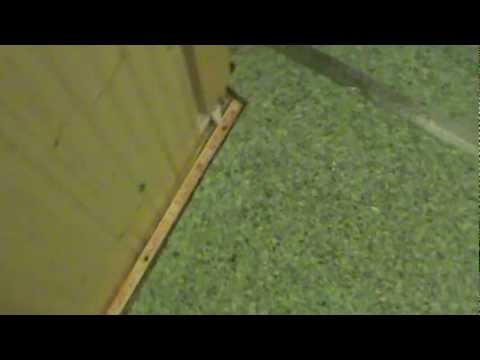 HOW TO CARPET PAD ON CONCRETE