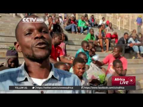 Malawian bodybuilder takes on youth unemployment