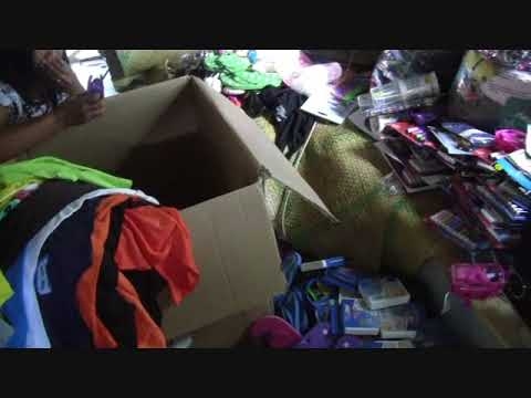 GLIMPSE OF OUR HOUSE WITH BALIKBAYAN BOXES ITEMS EXPAT FOREIGNER PHILIPPINES
