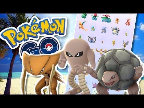 POKÉDEX AT 137 + SCUBA DIVING!! | Pokémon GO in Cayman Islands w/ ThinksWife