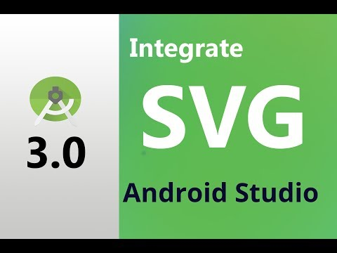 How to use svg icon / files or images  in android