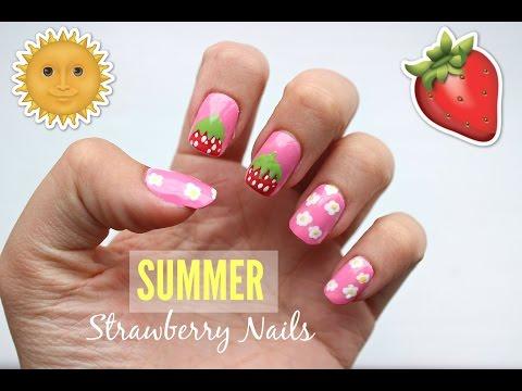 Summer Strawberry Nails   Viki Nailbeauty