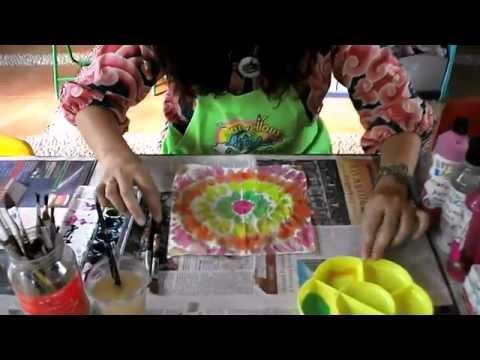 Arts & Crafts for Children #1 Tie-Dye Tissue Paper