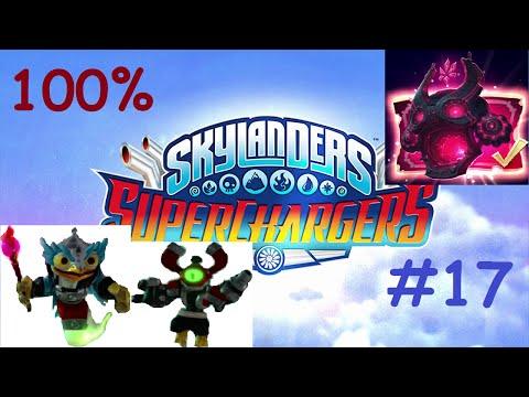 Skylanders Superchargers Walkthrough 100% | NIGHTMARE MODE | Hoot Loop + Magna Charge (2 Player) #17