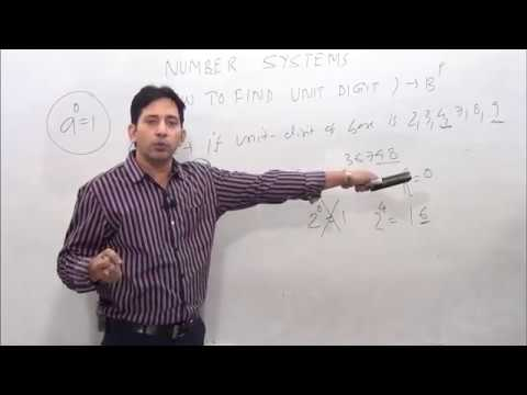 How to find unit digit (very useful trick)-Number System