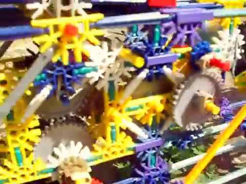 Knex AUTOMATIC gearbox car two speed solar