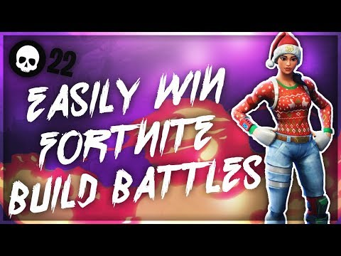 How To EASILY Win Build Battles In Fortnite! (Console Building Battle Royale Tips)