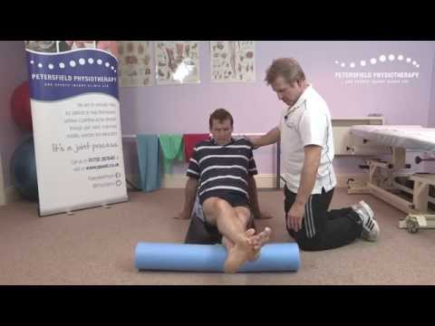How to Use a Foam Roller to treat a Calf Injury