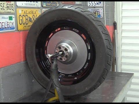 Delboy's Garage, Project FoXDaWG Day 8, Rear Wheel Refurb'