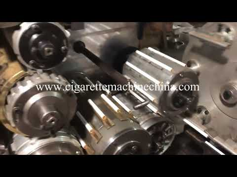 Update small baby machine to made cigarette with logo printing function  for testing 2