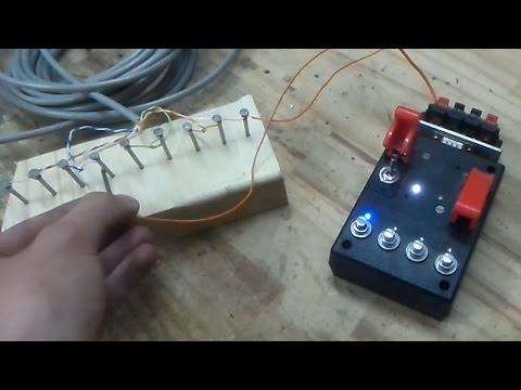 PIN FIRING SYSTEM - Homemade igniter tests