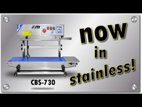 Stainless Steel Continuous Band Sealer CBS-730I