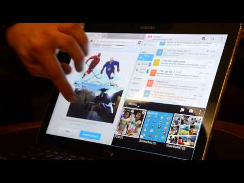 Samsung Galaxy Note Pro Preview