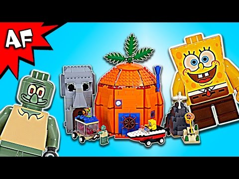 Lego SpongeBob ADVENTURES in BIKINI BOTTOM 3827 Speed Build