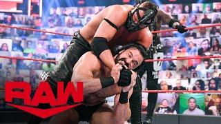 Drew McIntyre vs. MACE & T-BAR – Handicap Match: Raw, April 19, 2021