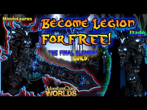 AQW - Join The Legion for Nearly No AC Spent