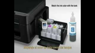 Epson Stylus P50 Photo Printer CISS (Continuous Ink System) Unboxing