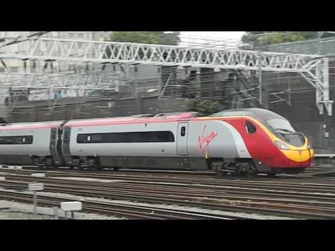 Trains at London Euston, WCML | 08/08/17