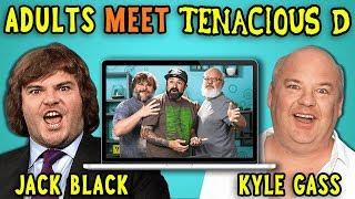 Adults React To And MEET Tenacious D (Jack Black/Kyle Gass)
