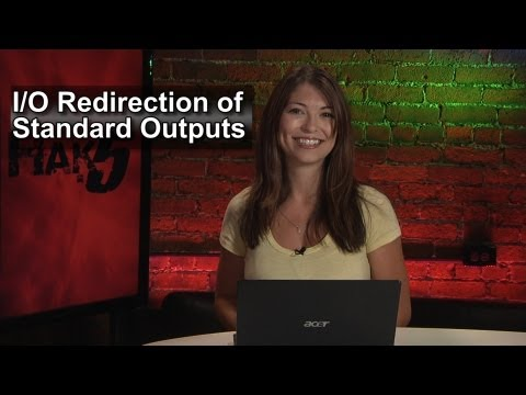 HakTip - Linux Terminal 101 - I/O Redirection of Standard Outputs