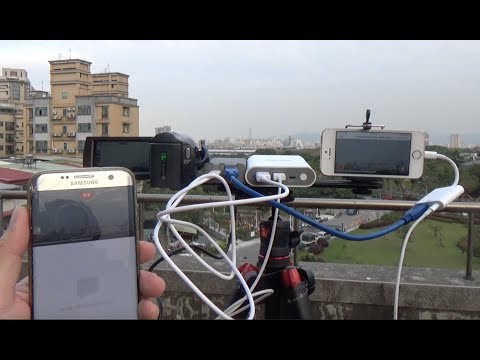 Using a DSLR Camera Live Streaming to facebook on iPhone