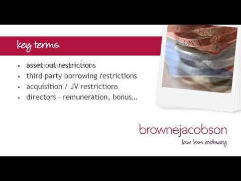 In-house lawyers forum: restrictions in finance documents - October 2013