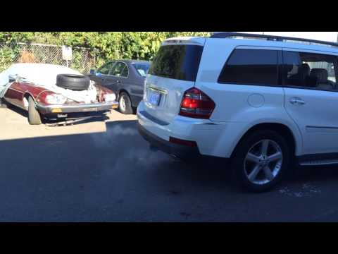 Benz GL 320 diesel particulate filter cleaning