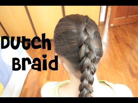 How To Do a Dutch Braid (On Yourself)