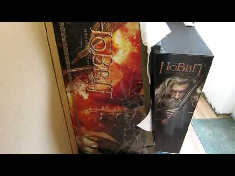 Hobbit Pinball Unboxing UK Smaug Gold Special Edition