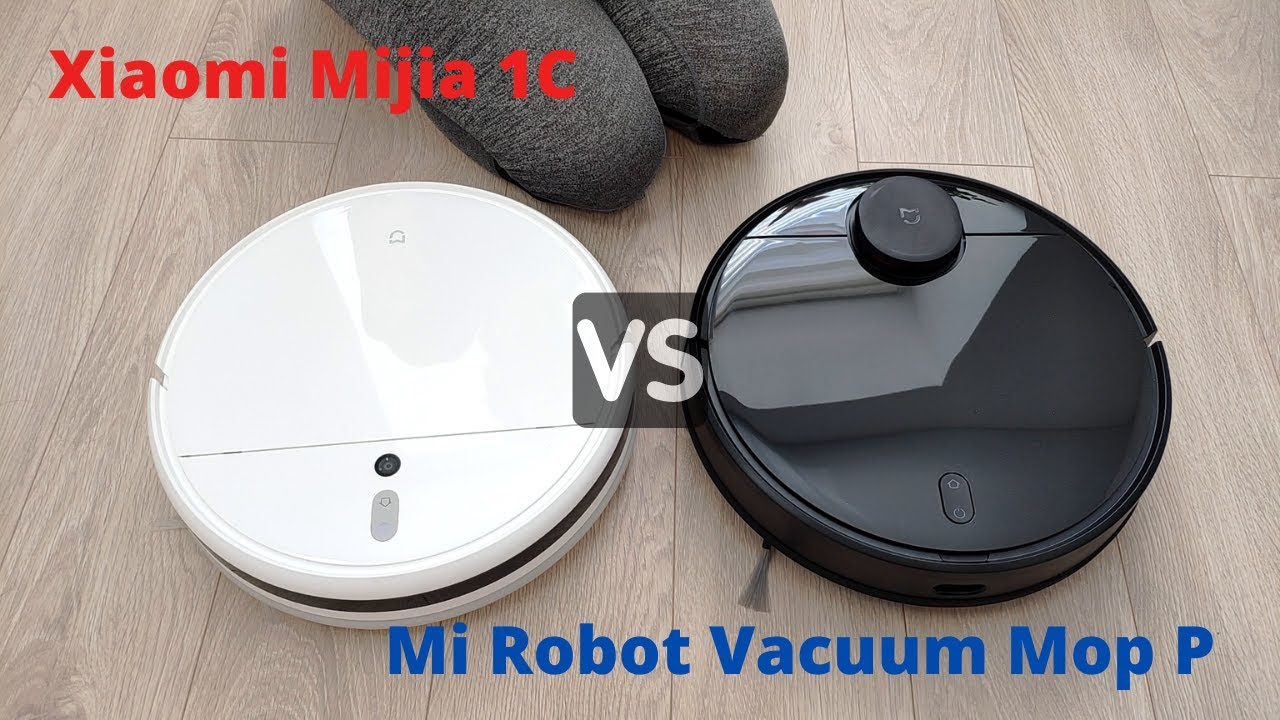 Xiaomi Mi Robot Vacuum Mop P vs. Mijia 1C: Differences and Cleaning Performance Compared