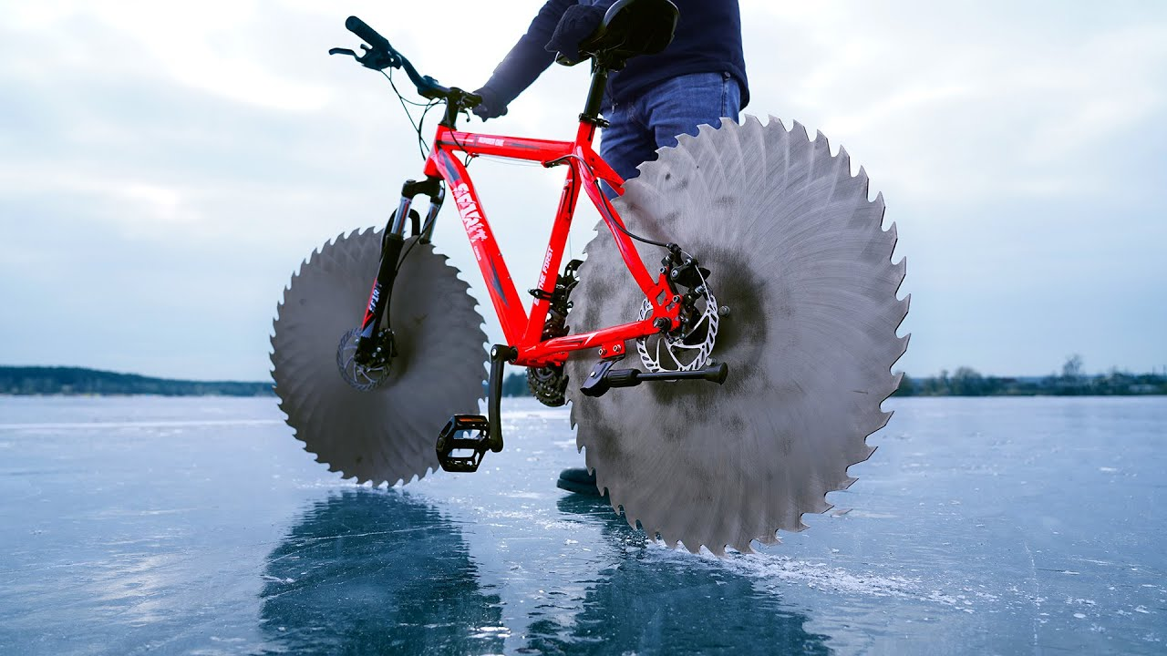 Epic Cycling on Ice