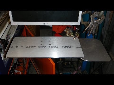 CNC Project - Making a Keyboard Mouse tray for a Monitor Arm