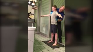 Mom Furious Over 13-Year-Old Son's Airport Pat-Down: We Were Treated Like Dogs