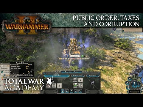 Total War: WARHAMMER 2 – Public Order, Taxes and Corruption - Video Tutorial