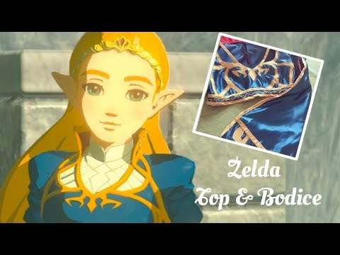 Making of: Princess Zelda Cosplay Tutorial Part 1: Top and Bodice