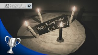 Resident Evil 7 - Happy Birthday Puzzle Solution + Out Before Dessert Trophy/ Achievement