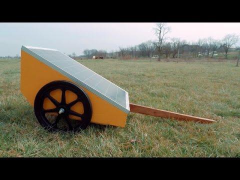 DIY Portable, Powerful, Solar Electric Fence Cart