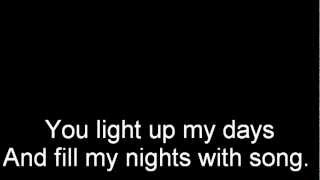 You light up my life Westlife lyrics