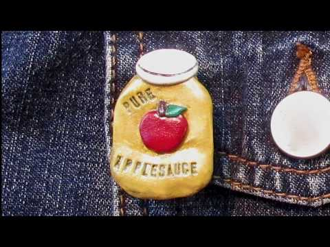 Pure Applesauce Pin