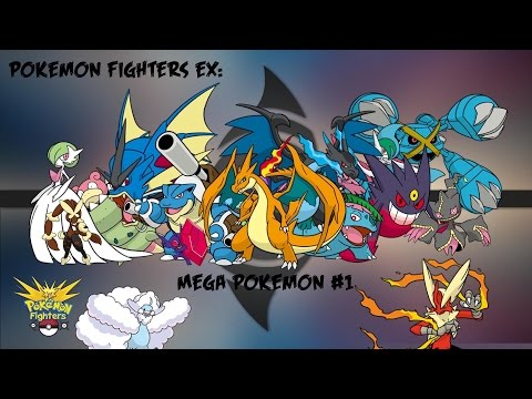 Pokemon Fighters EX: Mega Stones #1