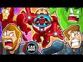 WHAT IF DEADPOOL DID THIS TO AVENGERS【Marvel Superheroes Parody】