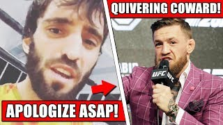 Conor McGregor threatened by Russian fighter for Kadyrov comments at UFC 229 presser