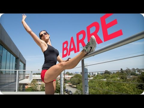 Lower Body BARRE WORKOUT for SCULPTED LEGS | Autumn Fitness