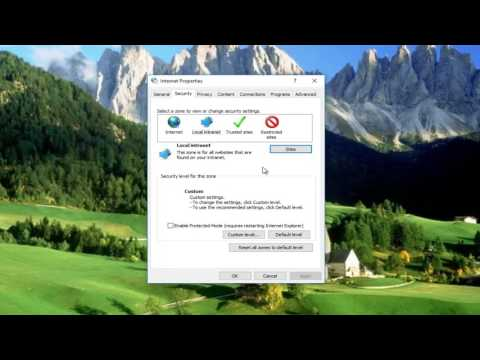 FIX: Your Internet Security Settings Prevented One Or More Files From Being Opened