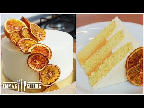 Orange Creamsicle Cake - Super Fluffy Orange Cake Recipe