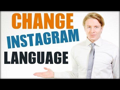 How to change language on Instagram 2016 Tutorial